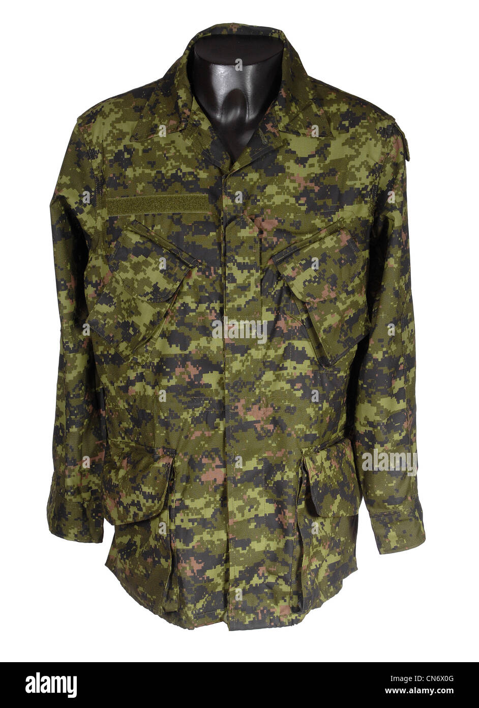 Camouflage Clothing As Used By Military Forces Canadian