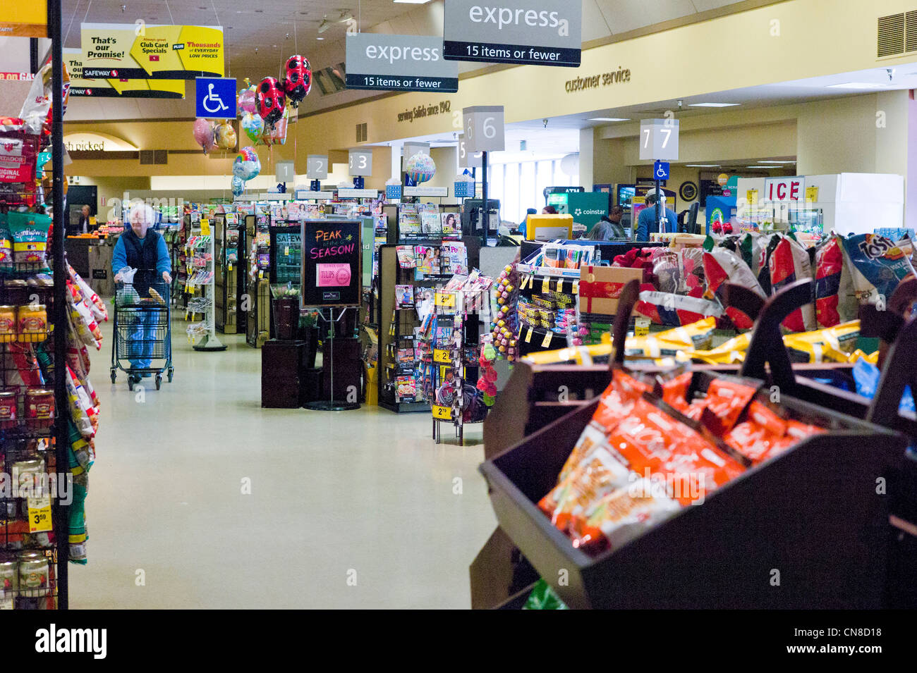 Safeway store stock photos safeway store stock images alamy older woman shopping at a safeway grocery store salida colorado usa stock buycottarizona
