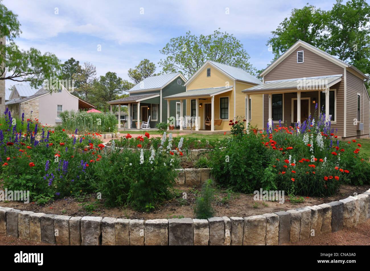 Cabins At Herb Farm, Fredericksburg , Texas, USA