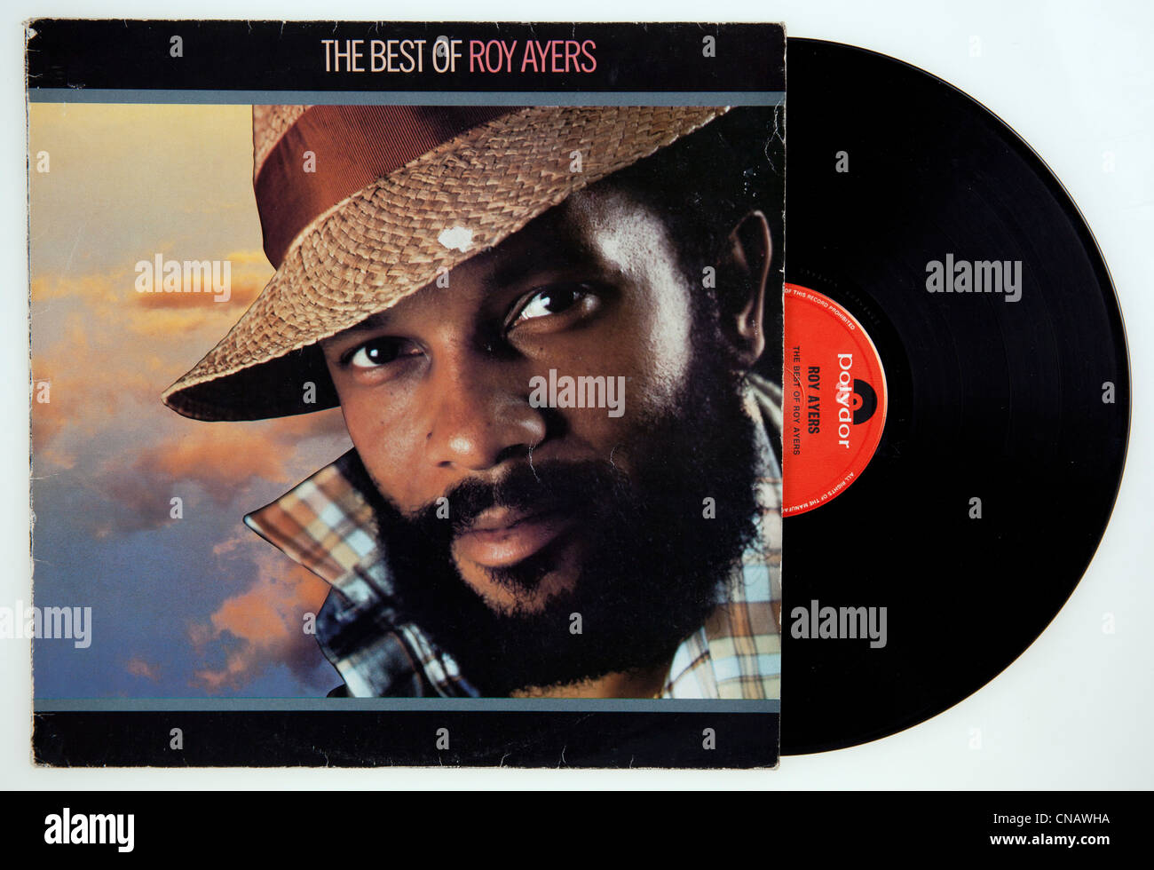 Cover Of Vinyl Compilation Album The Best Of Roy Ayers