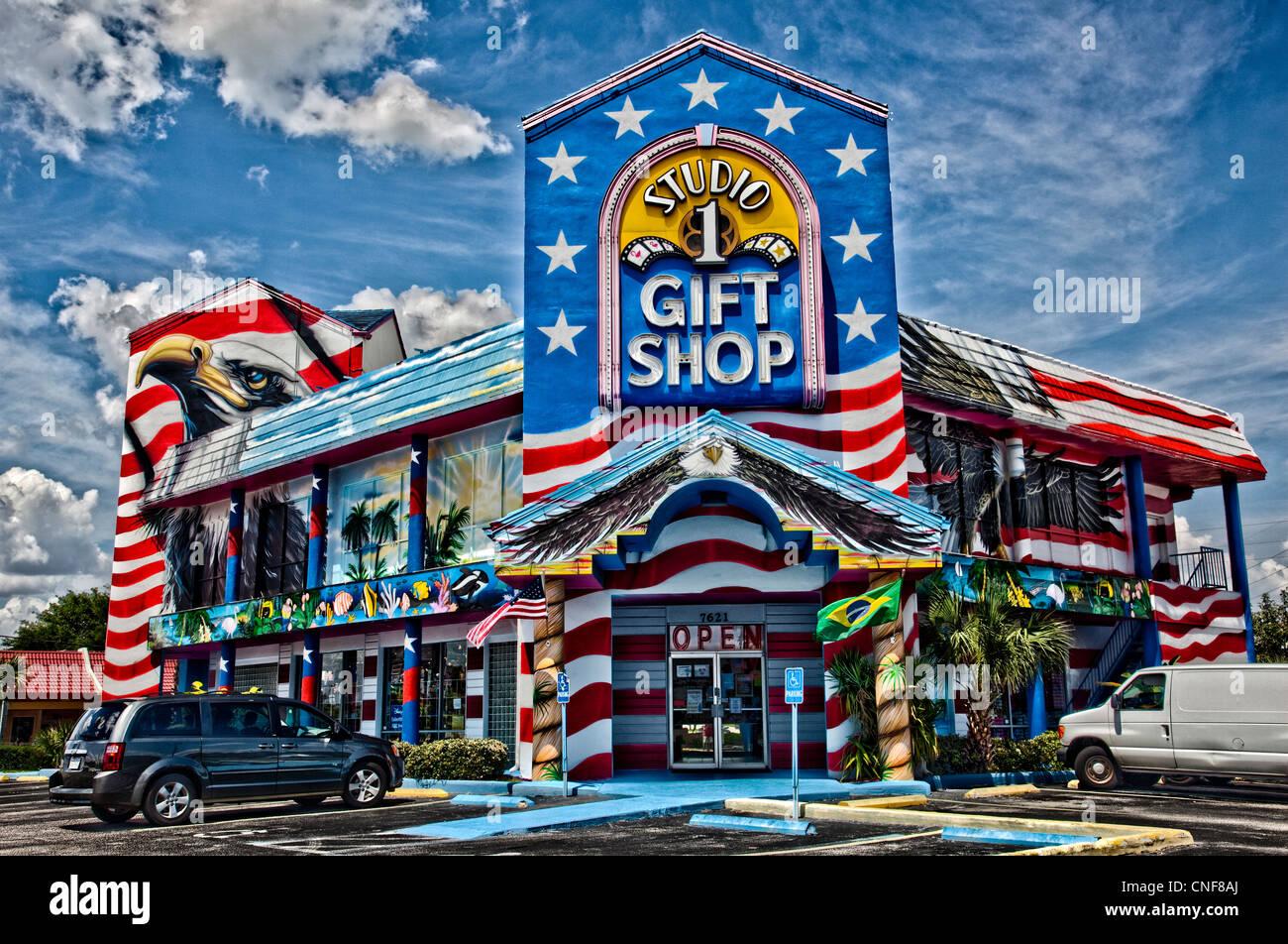 Creative Exterior Gift Shop In Orlando Kissimmee Florida