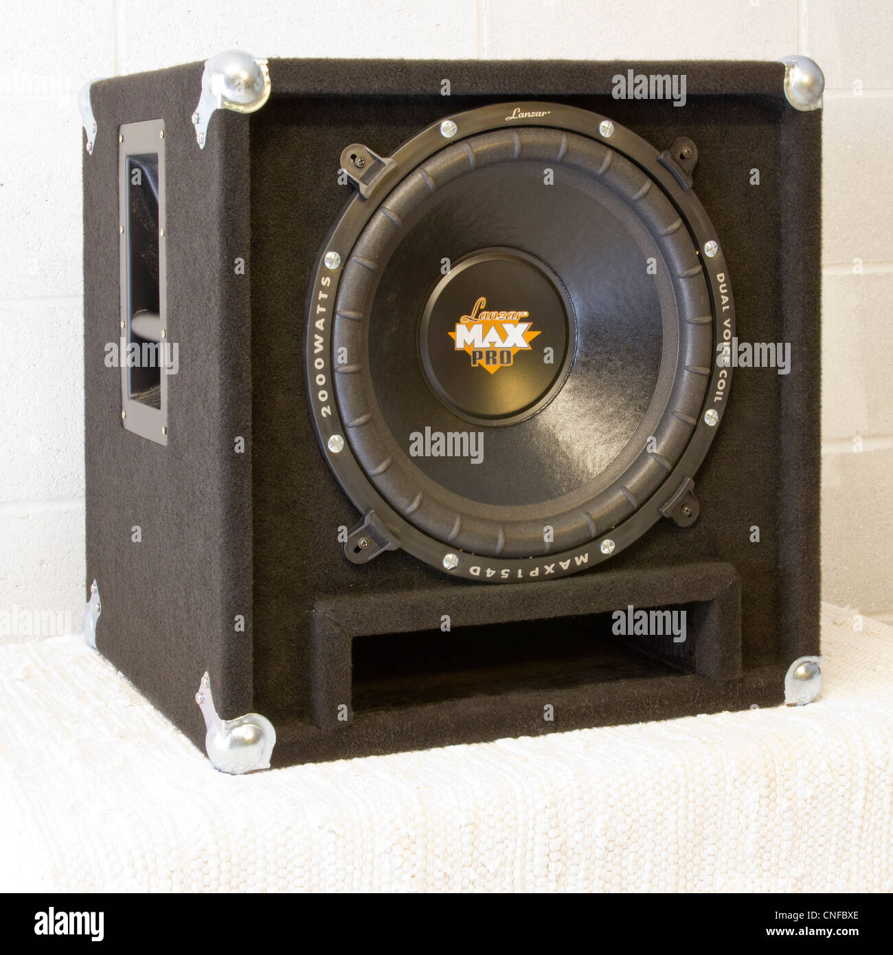 Sub Bass Speaker Cabinet for Band Disco Sound Reinforcement. Rated ...