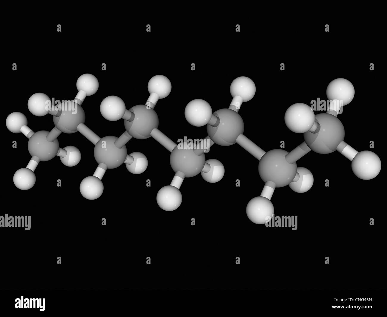 Octane Molecule Download preview image