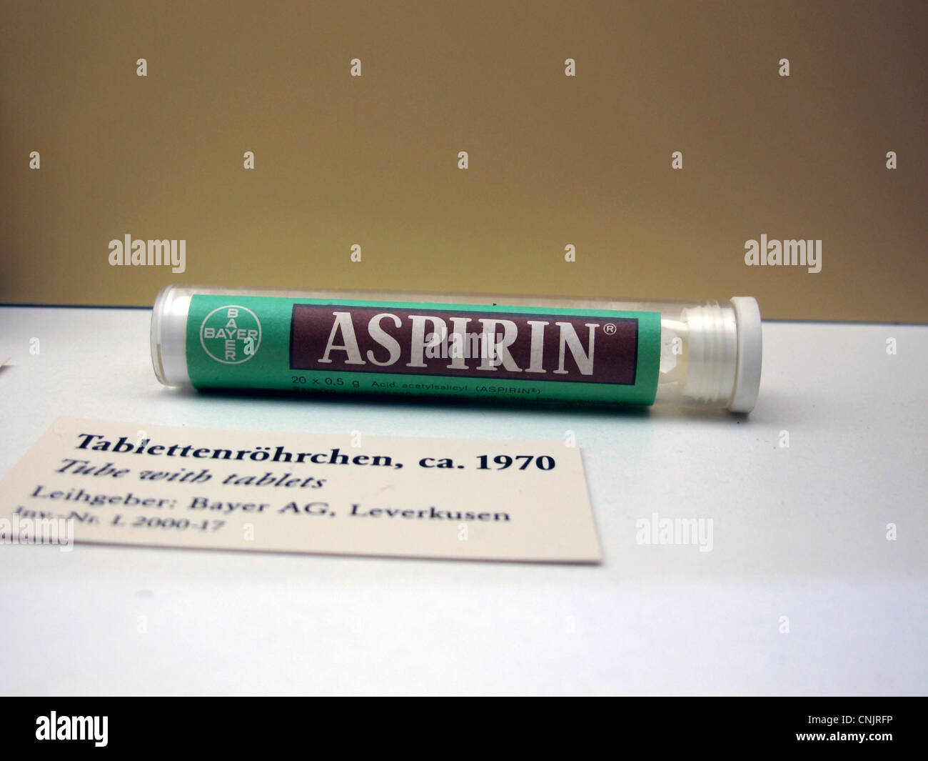 Bayer and drug stock photos bayer and drug stock images alamy nostalgic bayer aspirin tube germany munich german museum deutsches museum stock image buycottarizona Image collections