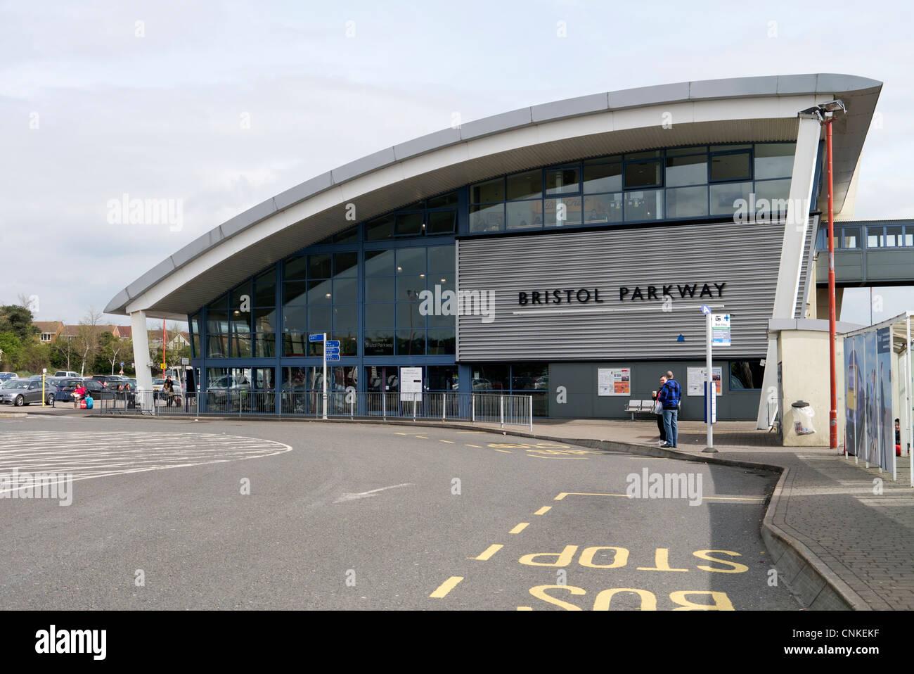 Car Parking At Parkway Station Bristol