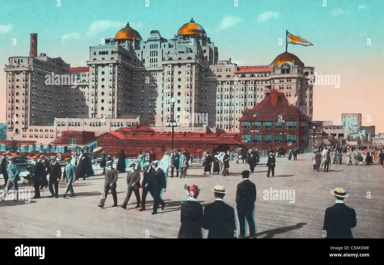 Traymore hotel in atlantic city new jersey circa 1910