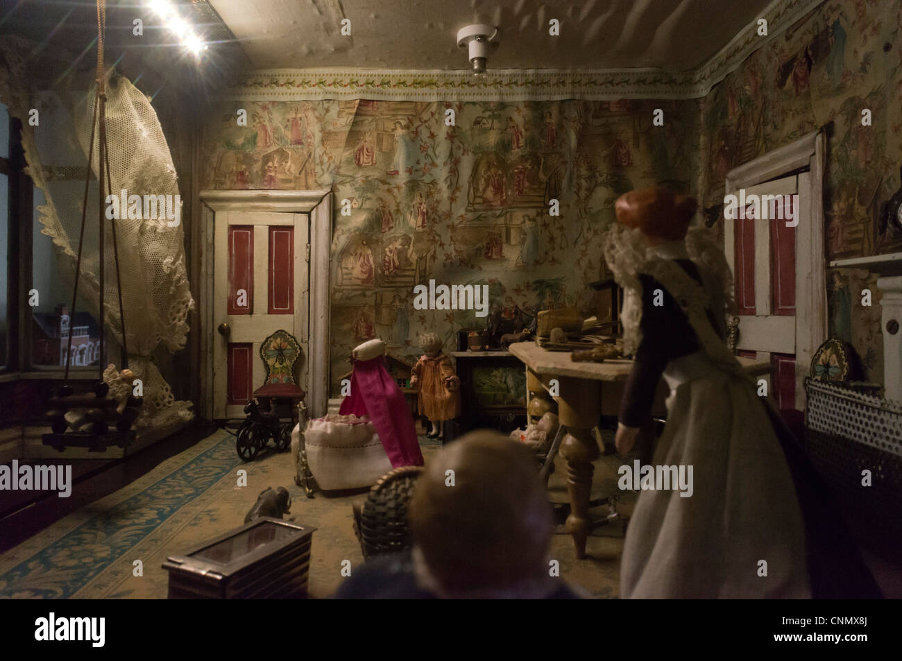 Victorian Style Old Dolls House Interior Stock Photo Royalty - Dolls house interior