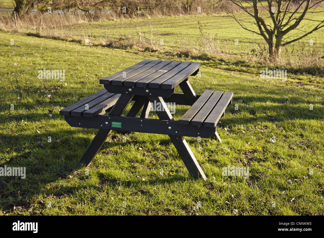 Outdoor Plastic Furniture Made From Recycled Plastic Bottles Stock Photo Royalty Free Image