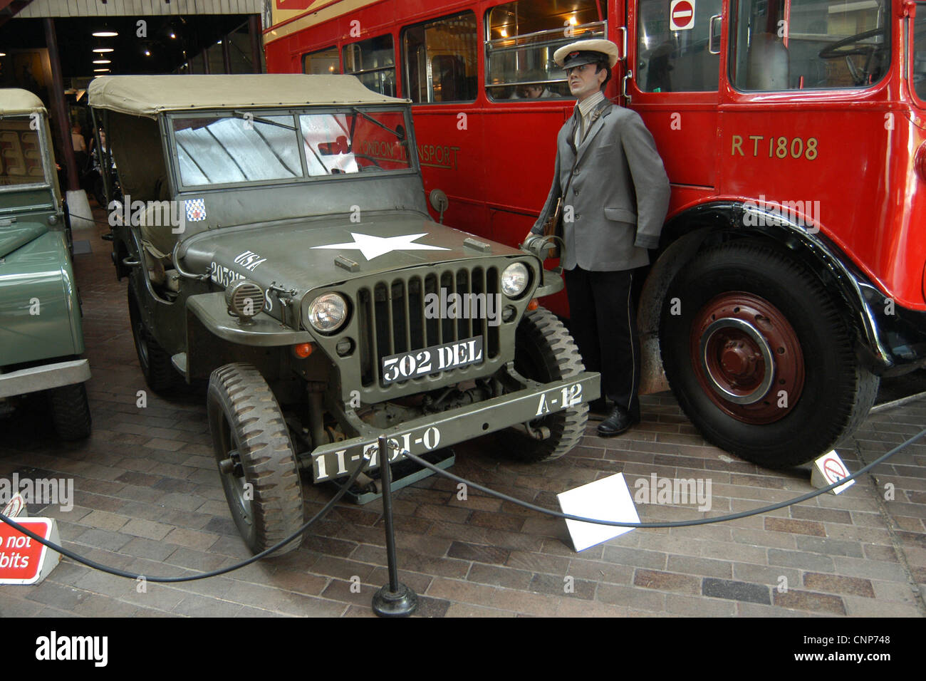 Jeep Willys Mb 1943 Produced By Willys Overland Company Toledo Stock Photo Royalty Free