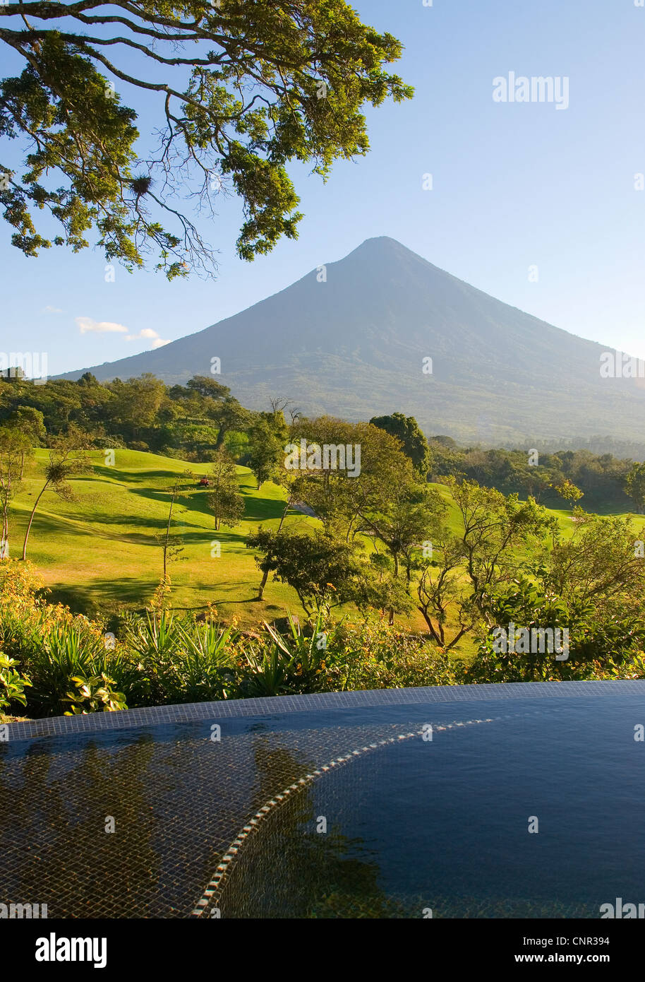 A Villa At La Reunion Antigua Golf Resort U0026 Residences With Private  Infinity Edge Plunge Pool And View Of Agua Volcano