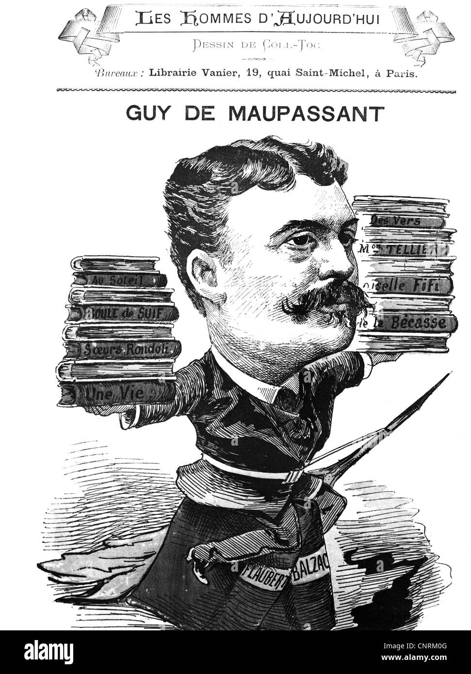 a biography of guy de maupassant a french writer Henri rené albert guy de maupassant (/ ˈ m oʊ p ə ˌ s ɑː n t / french: [ɡid(ə) mopasɑ̃] 5 august 1850 - 6 july 1893) was a french writer, remembered as a master of the short story form, and as a representative of the naturalist school of writers, who depicted human lives and destinies and social forces in disillusioned and often.