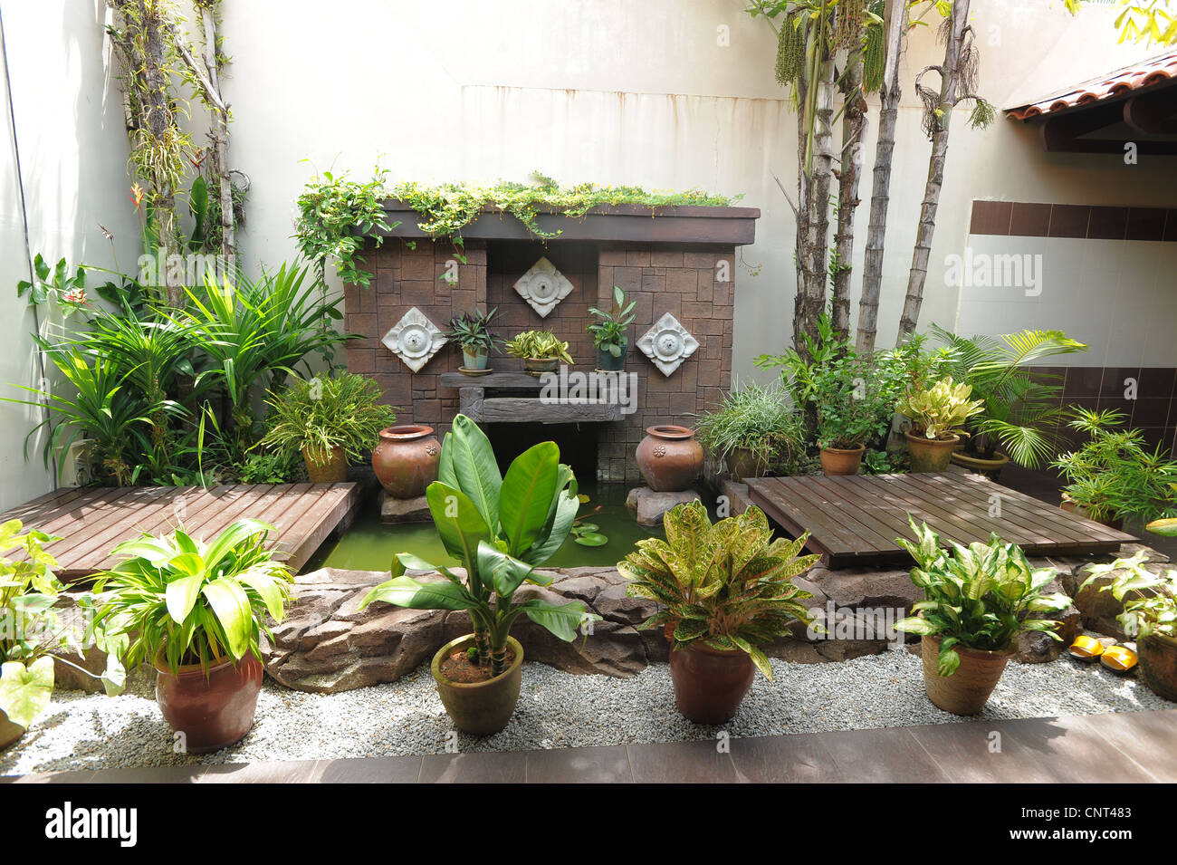 Exceptional Stock Photo   Tropical Garden Art Deco Style In Menu0027s Toilets , Oriental  Gardens, Langkawi,malaysia