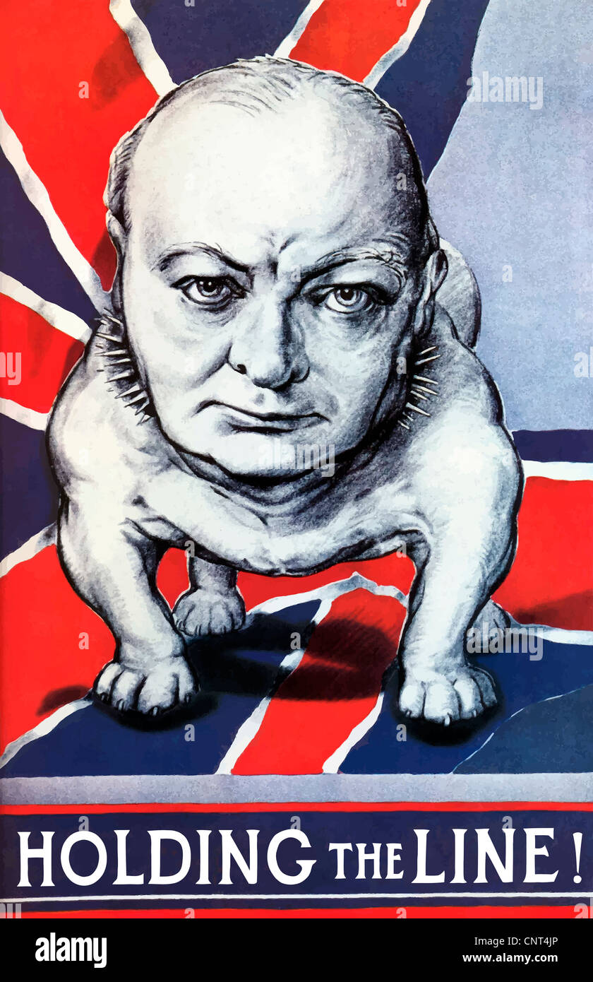 vintage-world-war-ii-poster-of-winston-churchill-as-a-bulldog-and-CNT4JP.jpg