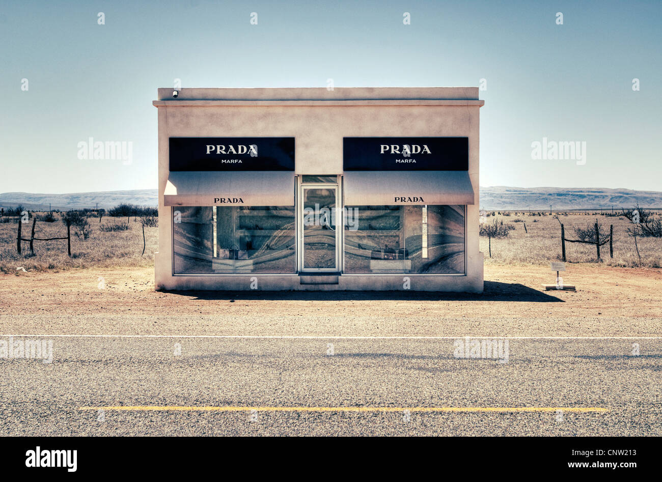 The Prada Marfa Store In Valentine, TX