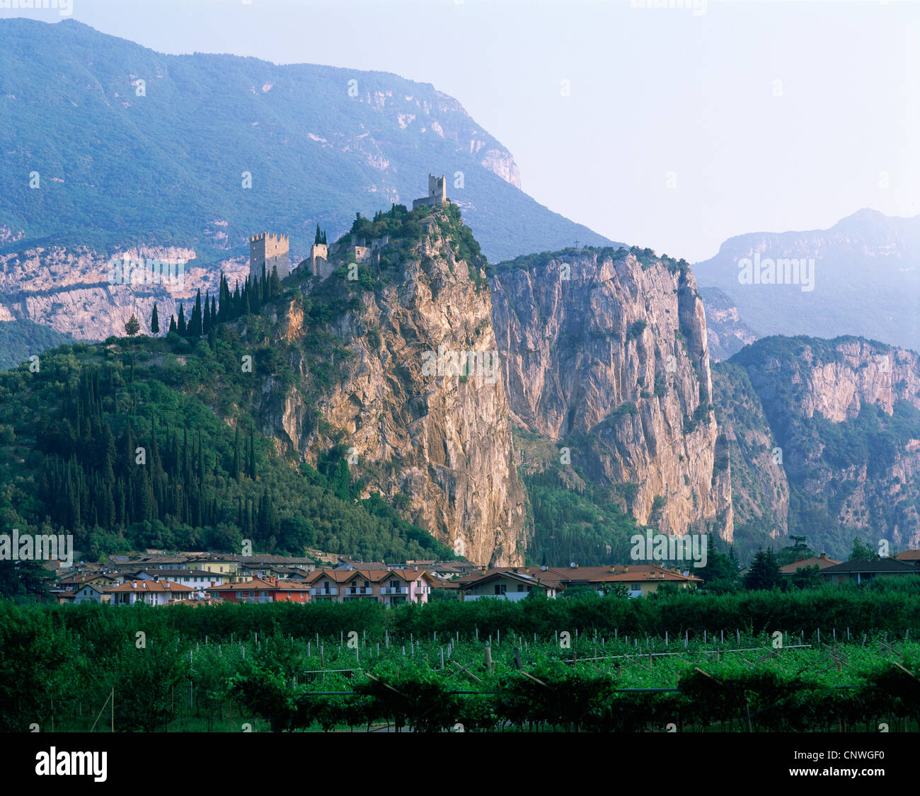 Arco Italy  city pictures gallery : Italy, Lake Garda, Arco Stock Photo, Royalty Free Image: 47890276 ...