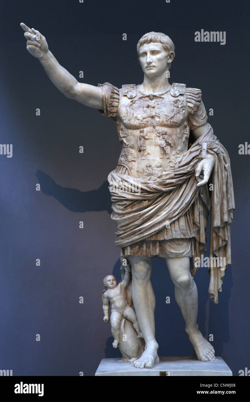 a physical analysis of the statue of augustus at prima porta The augustus of prima porta, a marble sculpture of the roman empire's first emperor, was discovered in 1863 and is now in the vatican museums.