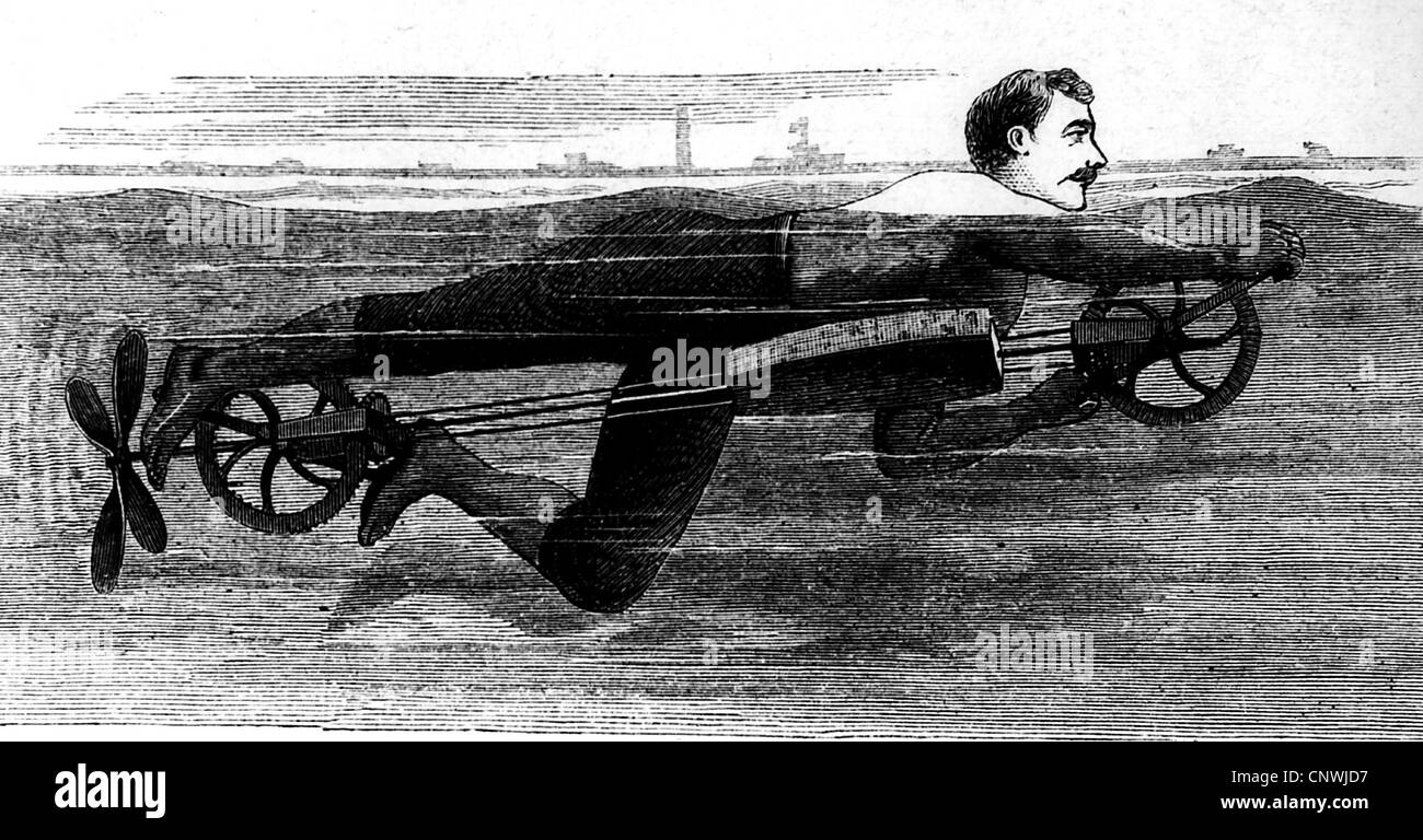 Whalers in action wood engraving published in 1855 stock illustration - Sports Swimming Swimm Apparatus Wood Engraving 1880 1880s 19th Century