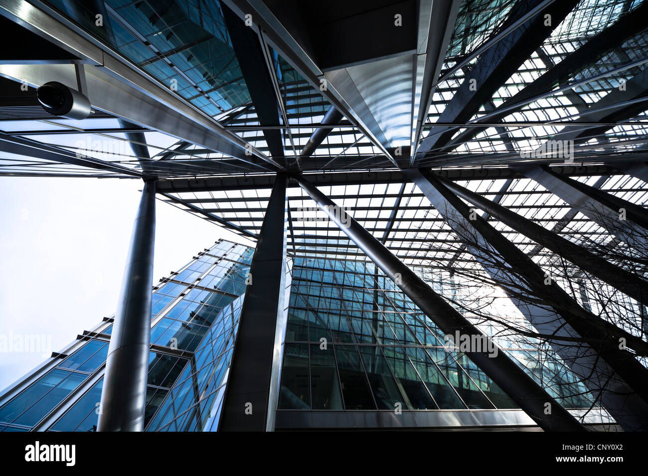 Modern Architecture In Steel And Glass In The Broadgate