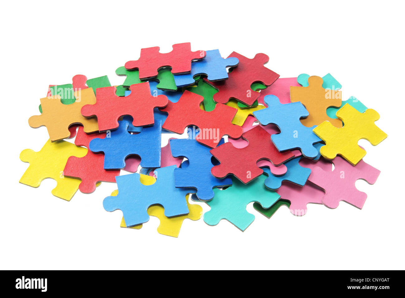 pile of jigsaw puzzle pieces stock photo royalty free image