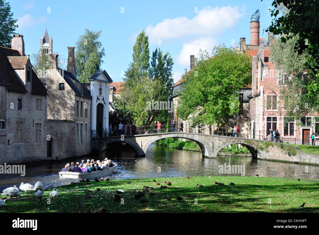Canal Tours Bruges Belgium