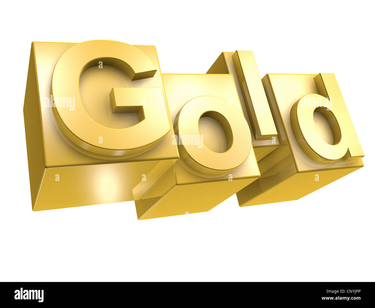 gold in 3d for - photo #6