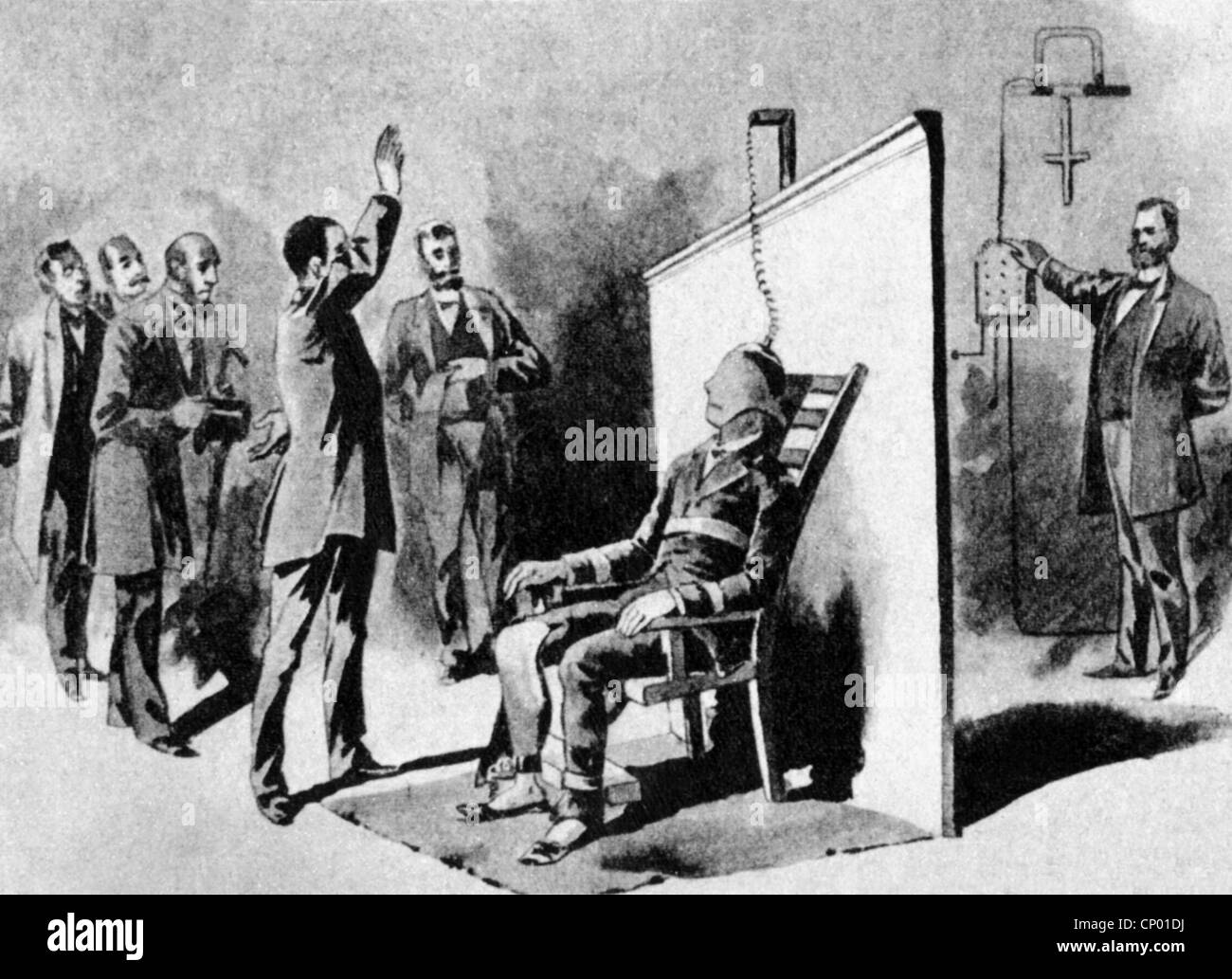 First electric chair victim - Justice Penitentiary System Electrical Chair Execution Of William Kemmler Auburn Prison