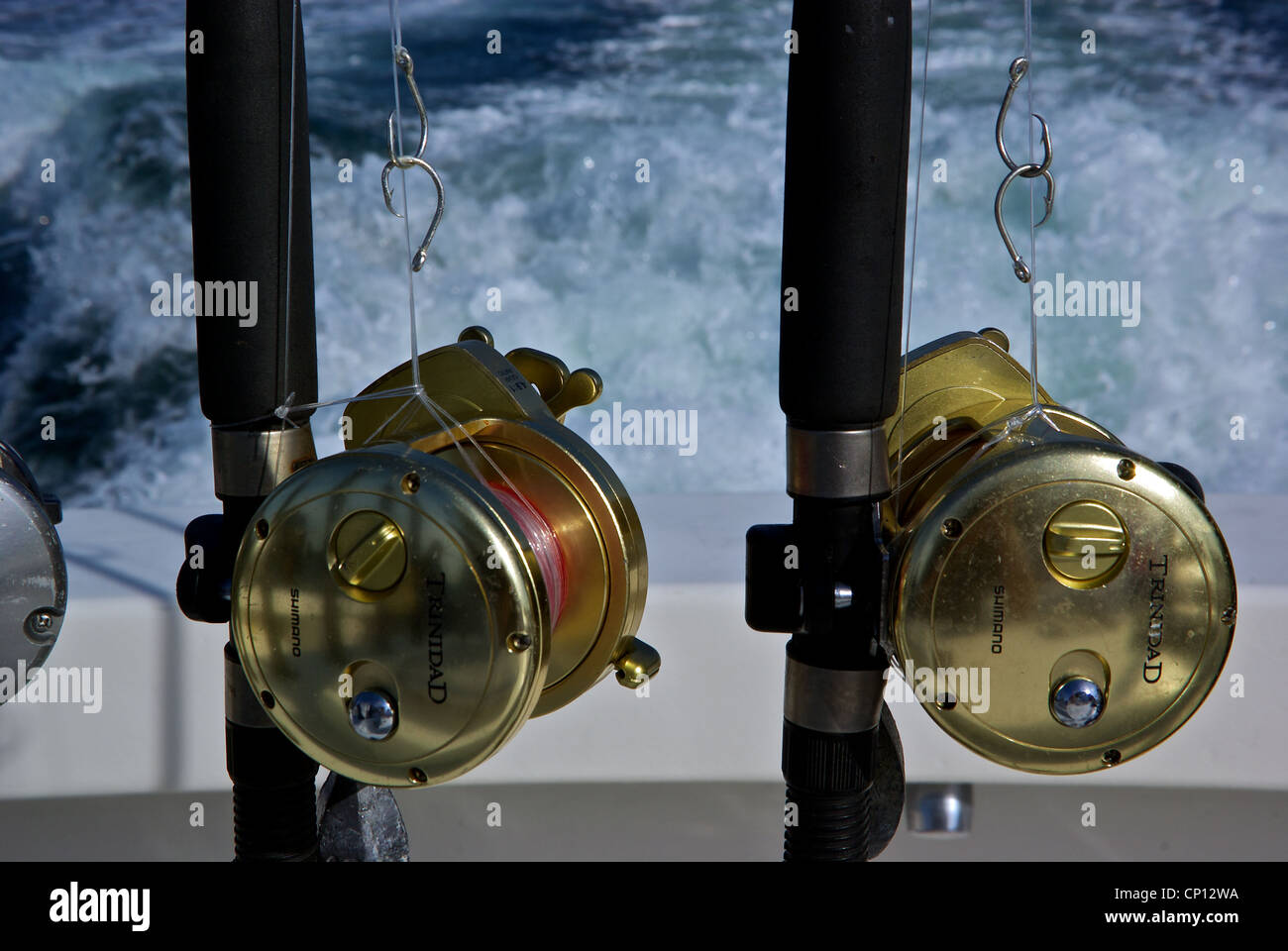 Shimano deepsea trinidad heavy duty fishing reels rods for Heavy duty fishing rods