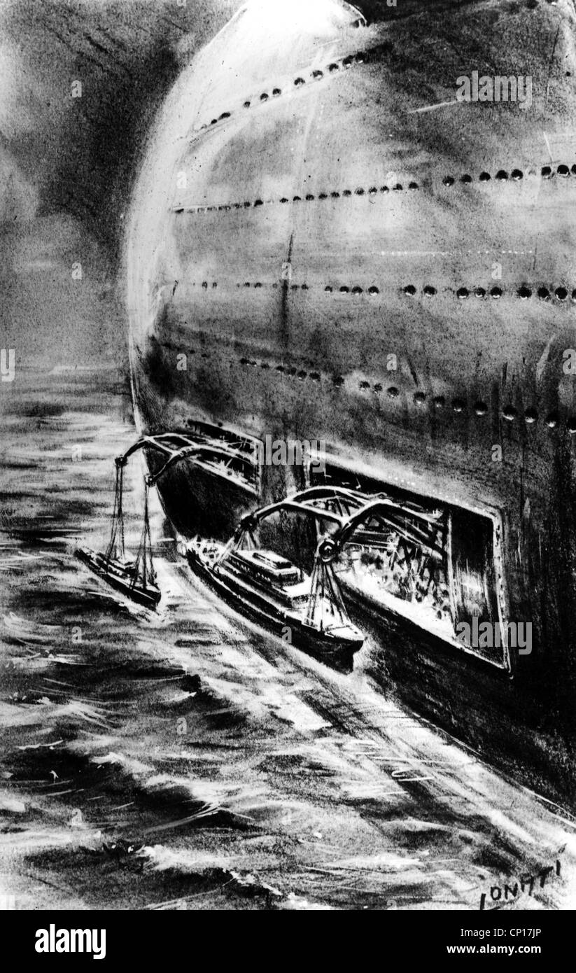 future ships loaded out of hull drawing 1950s ship ships