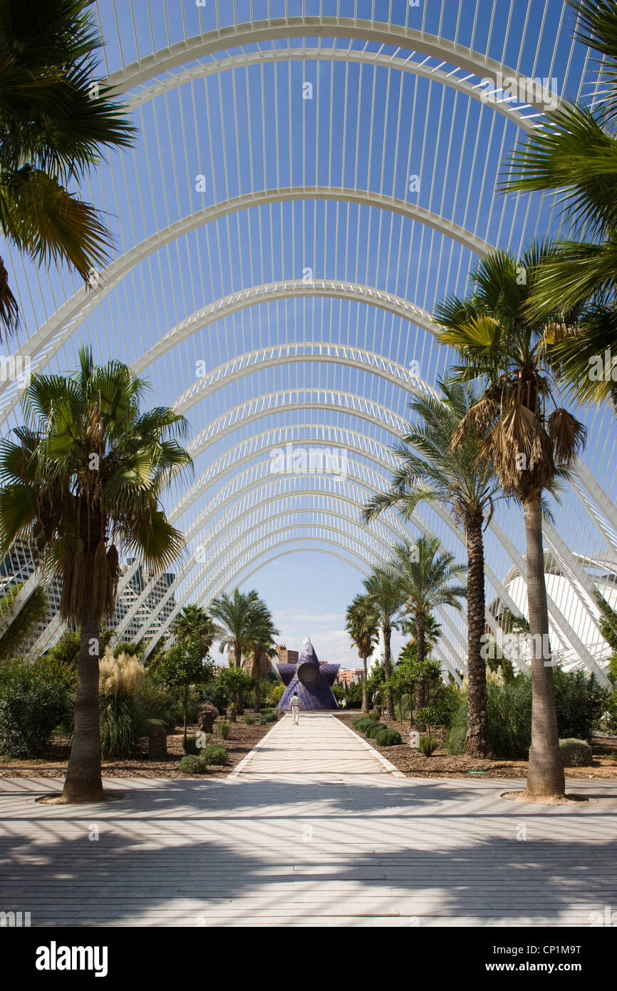 LUmbracle, The City of Arts and Sciences, Valencia, Spain Stock Photo, R...
