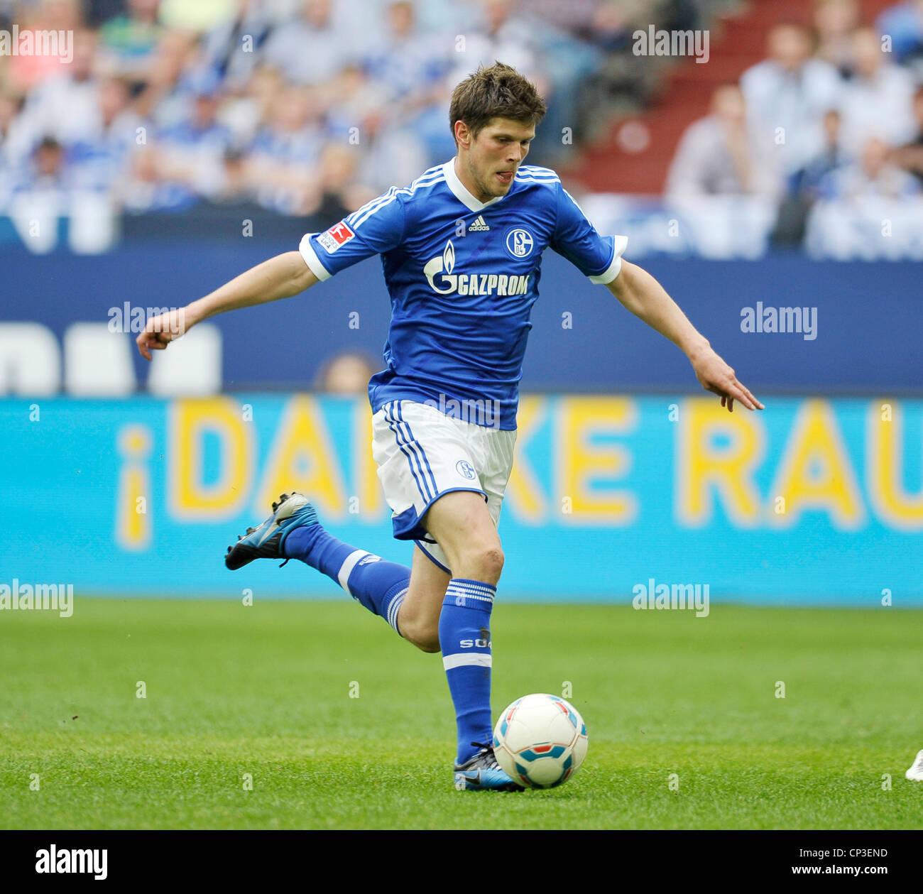 Klaas Jan Huntelaar Schalke 04 Stock Royalty Free Image