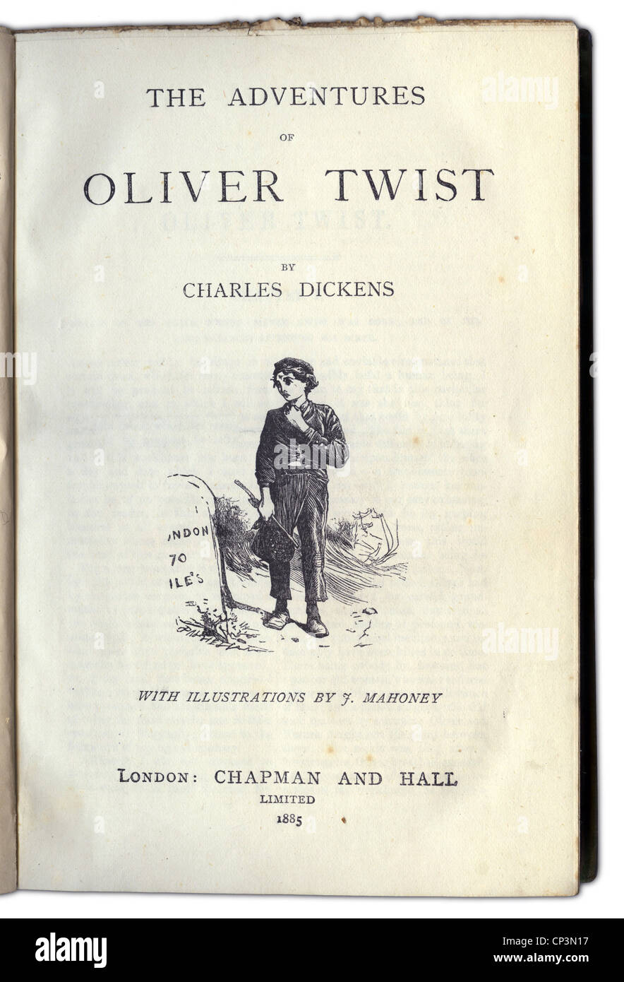 a literary analysis of david copperfield and oliver twist by charles dickens David copperfield (penguin classics) [charles  charles dickens was born  dickens was hired to edit bentley's miscellany where his novel oliver twist was.