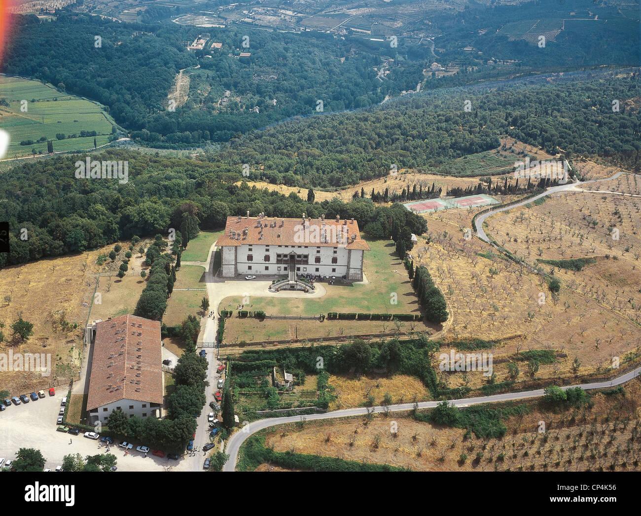 Villa Medici Mnchen. Diego Velzquez View Of The Garden Of The Villa ...