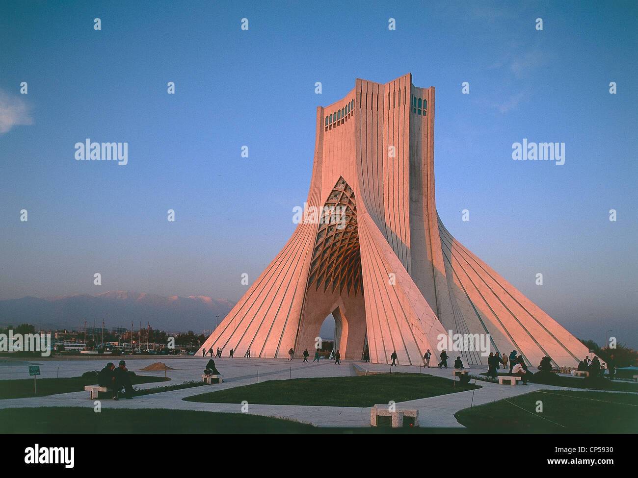 Iran - Tehran - Azadi Tower (Shahyad) in Azadi Square (architect ...