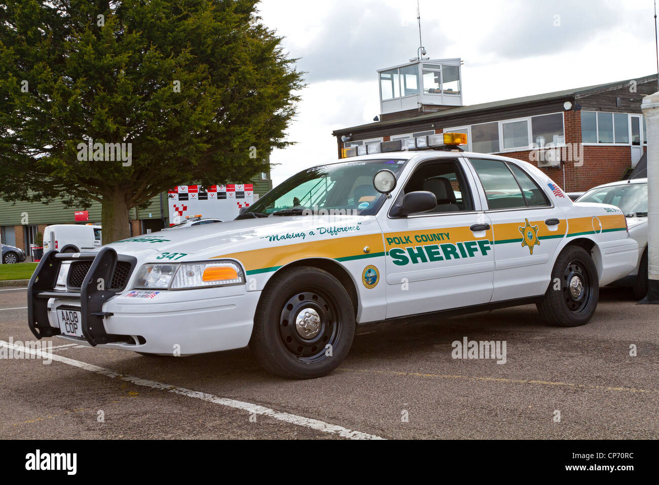 Polk county florida sheriff s ford police interceptor course car for the cscc hvra