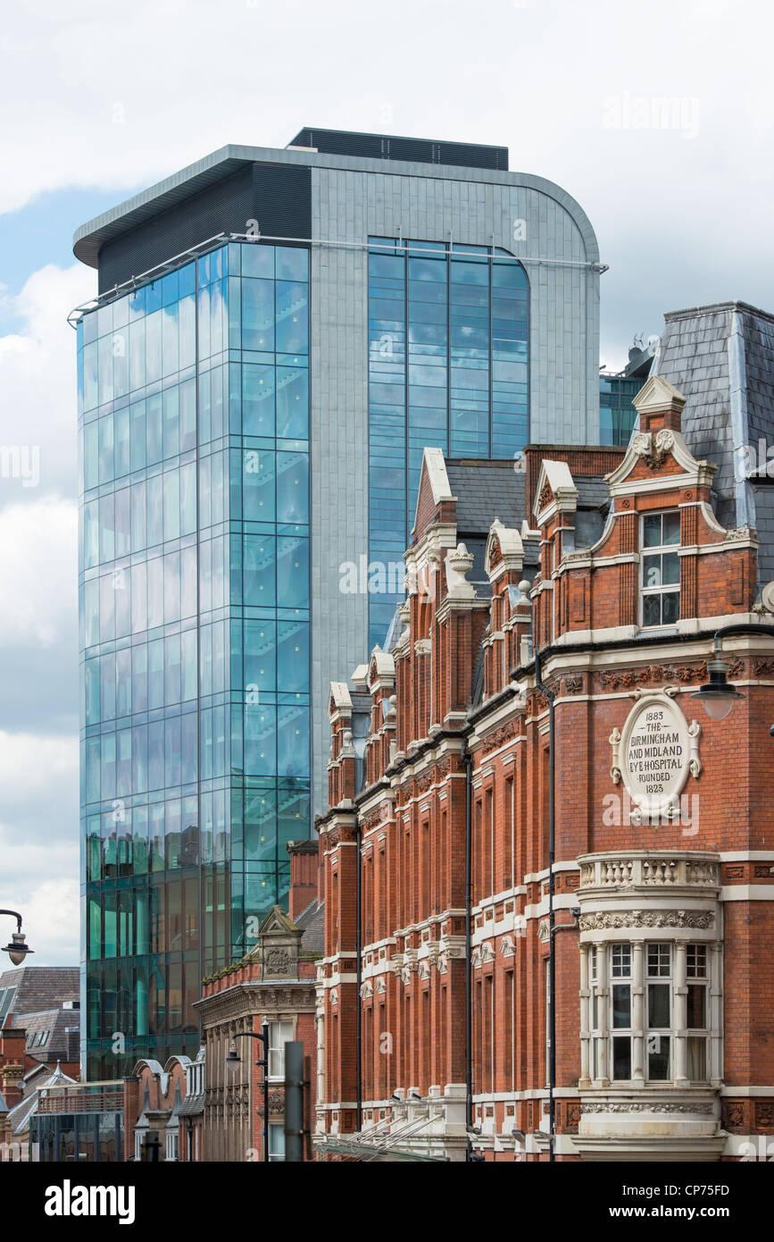 Church Street, Birmingham. 45 Church Street office building and ...