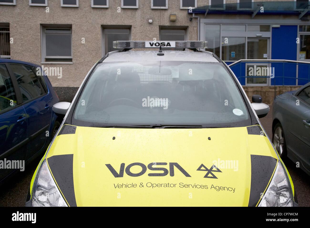 Vosa Vehicle And Operator Services Agency Vehicle Logo Scotland Uk