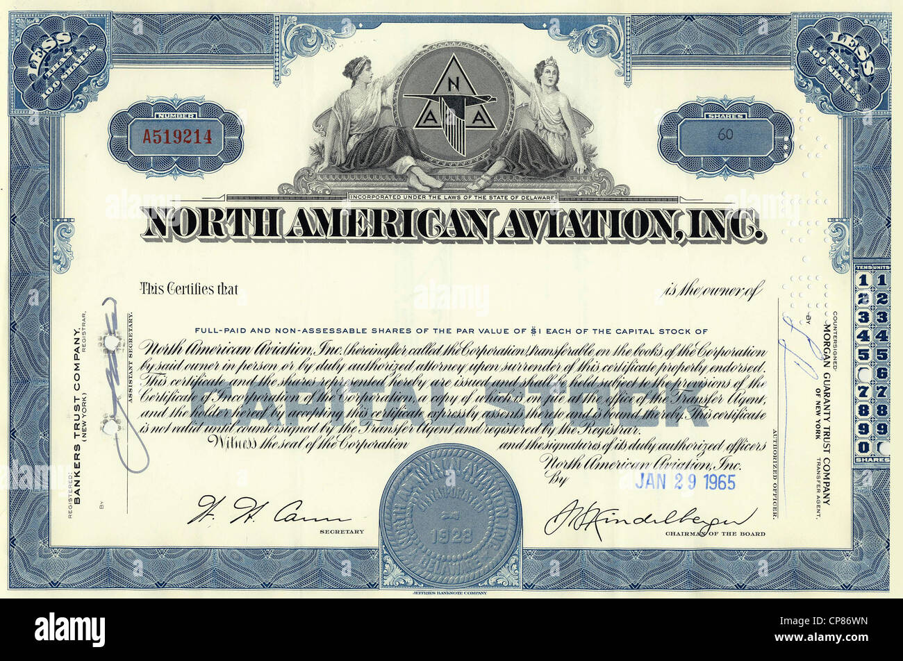 Historic share certificate north american aviation inc us historic share certificate north american aviation inc us american aircraft manufacturer today a part of boeing delaware 1 1betcityfo Gallery