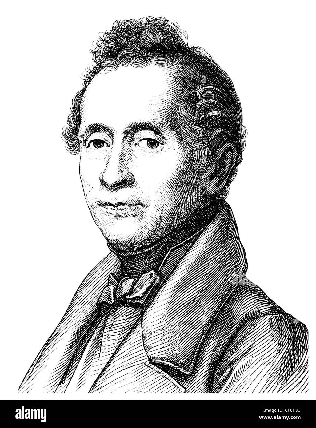 <b>Joseph Karl</b> Benedikt Freiherr von Eichendorff, 1788 - 1857, ... - joseph-karl-benedikt-freiherr-von-eichendorff-1788-1857-a-poet-and-CP8H93