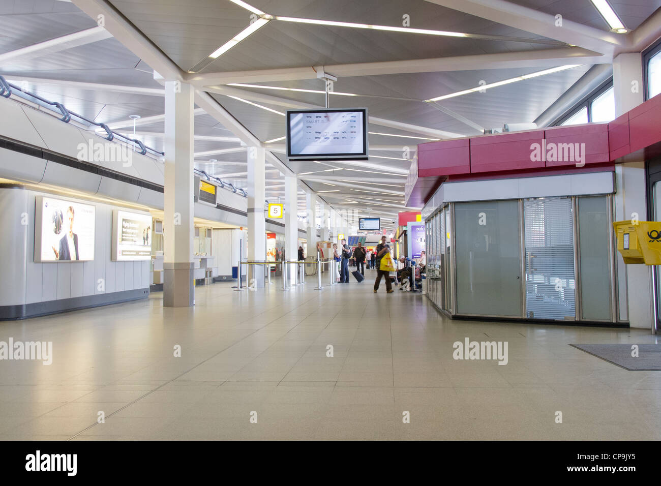 berlin tegel airport the interior arrivals and