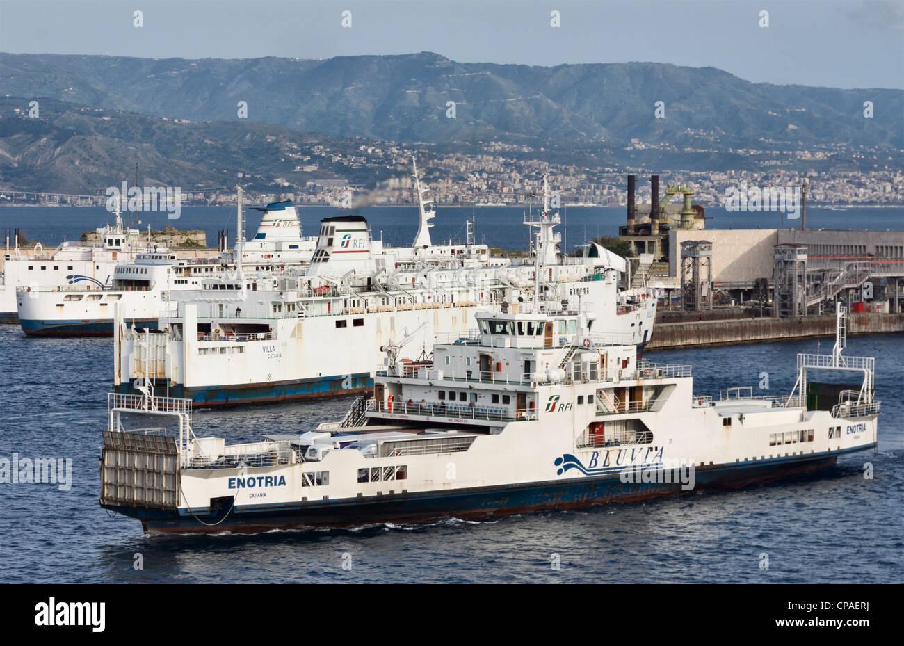 Villa San Giovanni Messina Ferry Truck