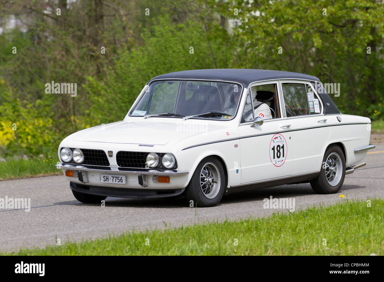 Vintage race touring car Triumph Dolomite Sprint from 1973 at Grand ...