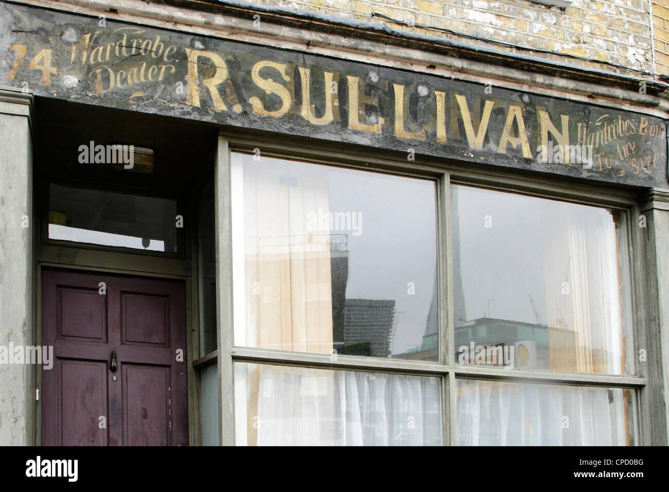 old shop sign london uk stock photo royalty free image