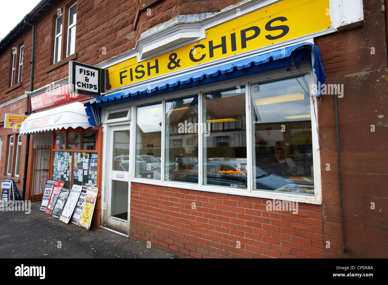 Freshwater fish and chip shop -