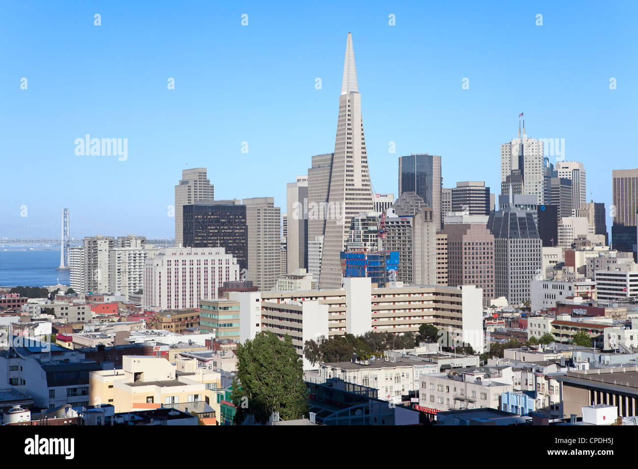 City skyline, San Francisco, California, United States of America ...