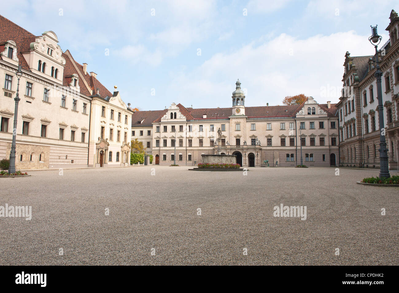 thurn und taxis palace regensburg unesco world heritage site stock photo royalty free image. Black Bedroom Furniture Sets. Home Design Ideas