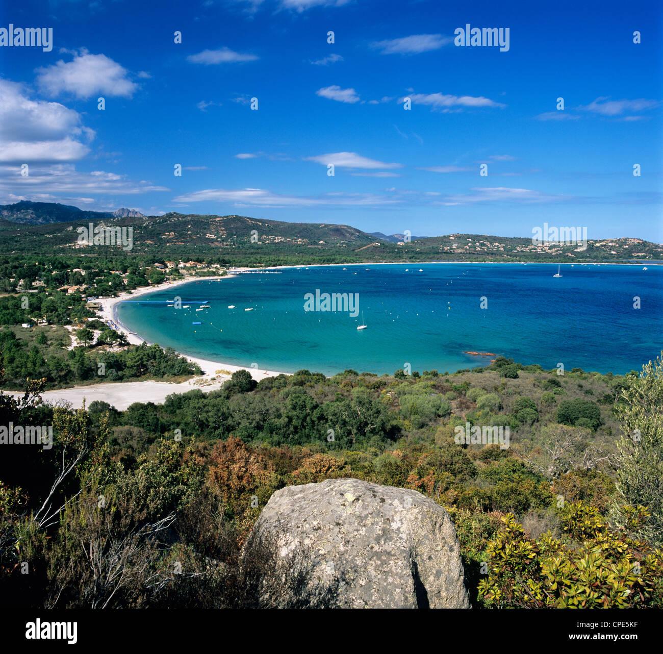 San Ciprianu Beach, Near Porto Vecchio, South East Corsica