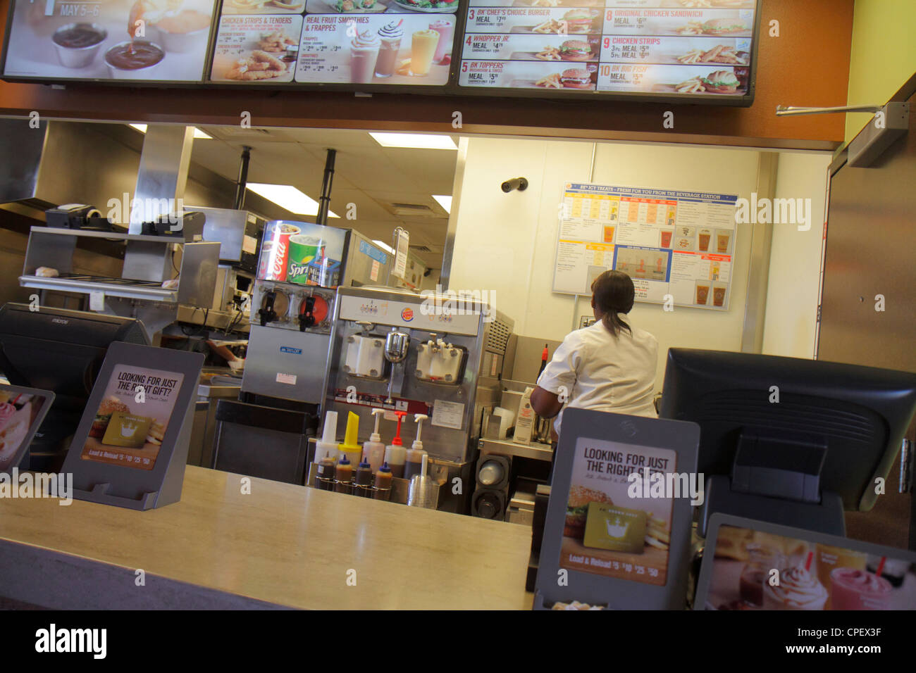 Working In A Fast Food Restaurant Culture