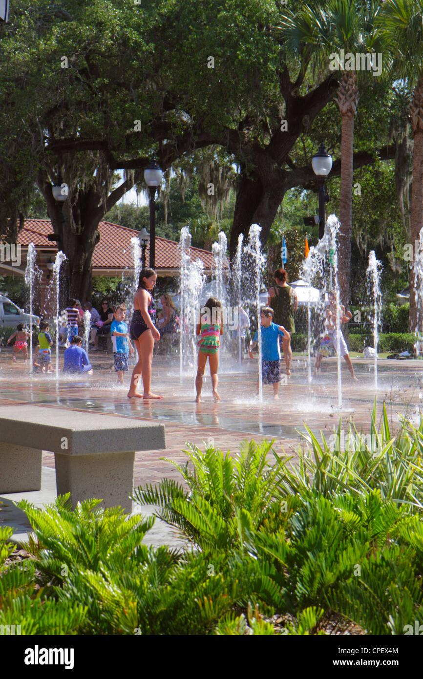 florida winter garden west plant street water park fountain boy