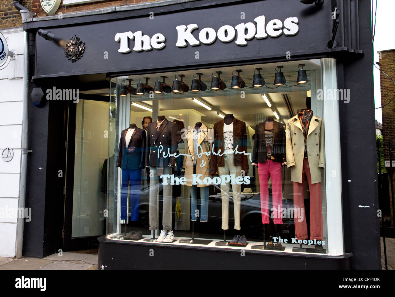 the kooples store hampstead high street london stock. Black Bedroom Furniture Sets. Home Design Ideas
