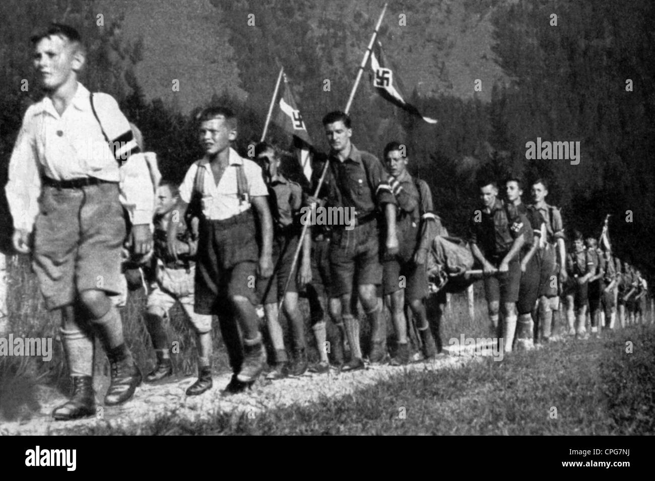nazi youth 1939 - 1945 on september 1st, 1939, hitler's armies invaded poland six years of war would follow with the full participation of the hitler youth eventually down to the youngest child.